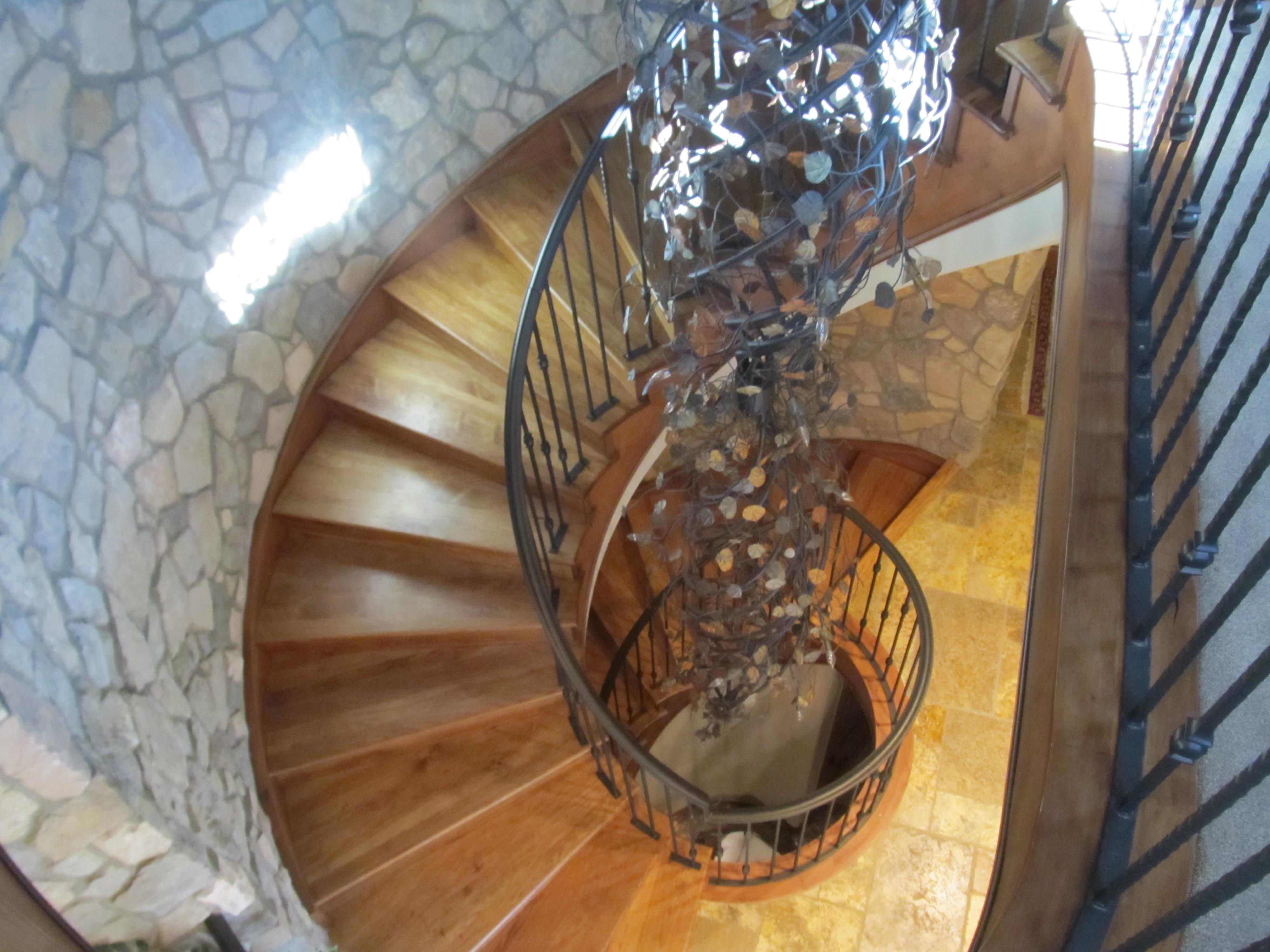 Upper Bear Creek - Stairs