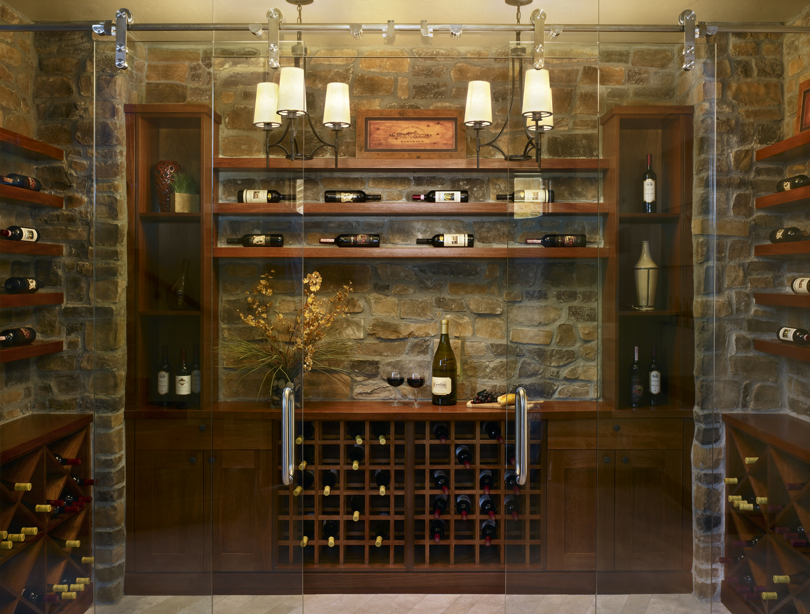 Parade of Homes - Wine Room